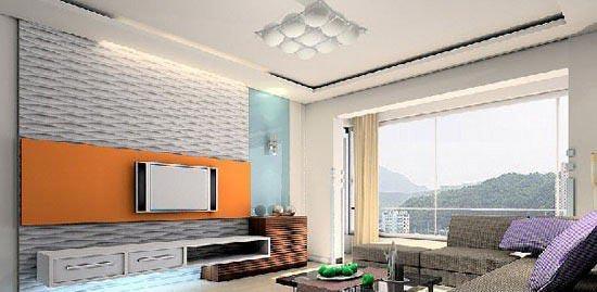 五款客厅装修设计效果图赏析