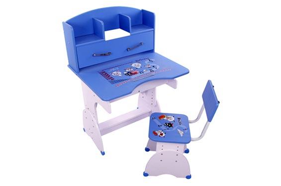 可升降儿童学习桌 成套儿童书桌